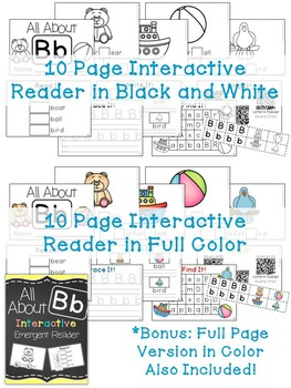 Interactive Emergent Reader: All About B