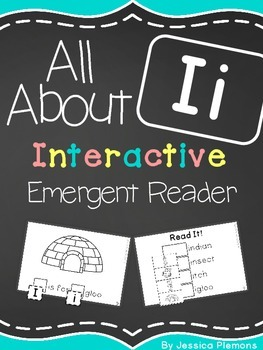 Interactive Emergent Reader: All About I