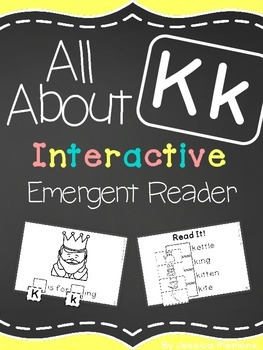 Interactive Emergent Reader: All About K