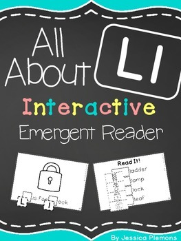 Interactive Emergent Reader: All About L