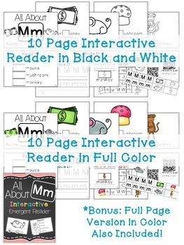 Interactive Emergent Reader: All About M