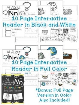 Interactive Emergent Reader: All About N
