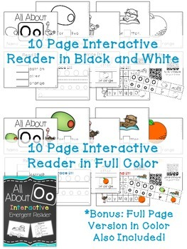 Interactive Emergent Reader: All About O