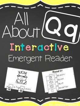 Interactive Emergent Reader: All About Q