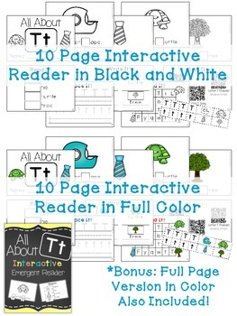 Interactive Emergent Reader: All About T
