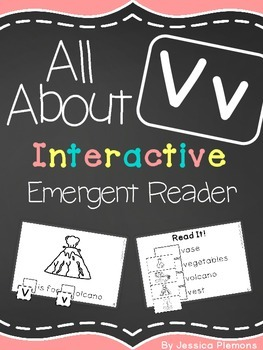 Interactive Emergent Reader: All About V