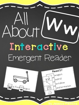 Interactive Emergent Reader: All About W