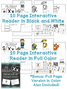 Interactive Emergent Reader: All About X