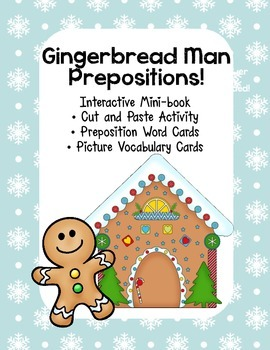 Interactive Emergent Reader, Gingerbread Man, Where are Yo