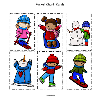 My Snow Day:  Interactive Emergent Reader for the Sight Word: SNOW