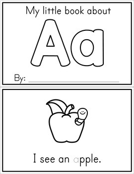 Alphabet Books Sample - Free