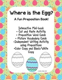 Interactive Emergent Reader, Where is the Egg? Prepositions ESL -  Easter