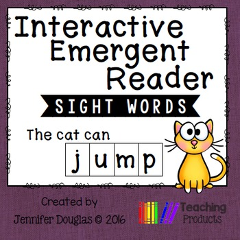 Emergent Reader - Sight Word JUMP