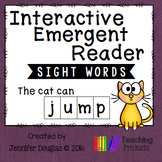 Sight Word Emergent Reader - Sight Word JUMP