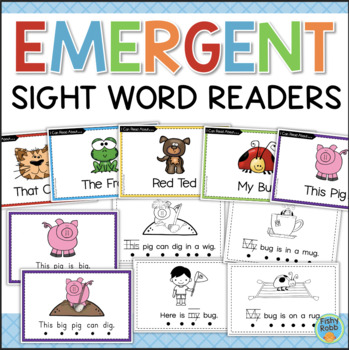 Emergent Readers - Sight Word Books