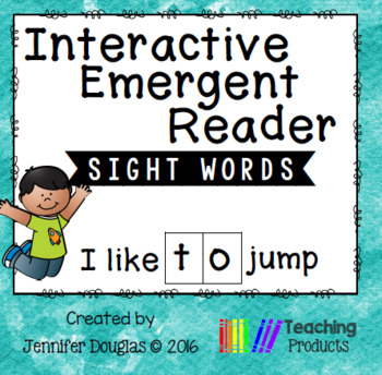 Emergent Reader - Sight Word TO