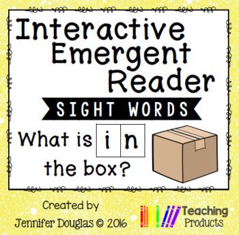 Emergent Reader - Sight Word IN