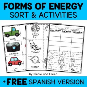 Interactive Activities - Energy
