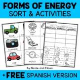 Forms of Energy Sort Activities