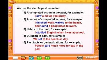 Interactive English language program
