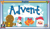 Interactive English literacy activities - Advent calendar