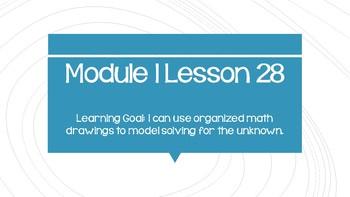 Interactive Eureka PPT: Grade 1 Module 1 Lesson 28