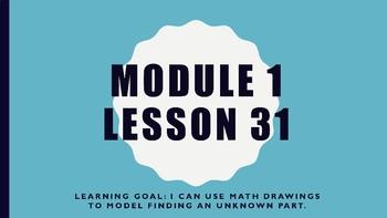 Interactive Eureka PPT: Grade 1 Module 1 Lesson 31