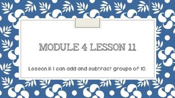 Interactive Eureka PPT: Grade 1 Module 4 Lesson 11