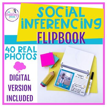 Social Inferences Interactive Flipbook with 40 Real Photos