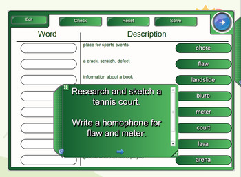 Interactive Fact Finder Activity Set 2 for IWB
