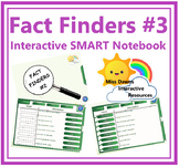 Interactive Fact Finder Activity Set 3 for IWB