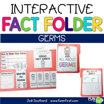 Interactive Fact Folder - August Bundle (Apples, Germs, Johnny Appleseed)
