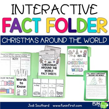 Interactive Fact Folder - Christmas Around the World