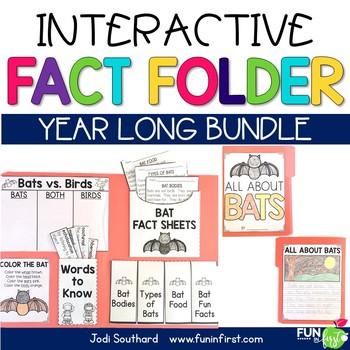 Interactive Fact Folder - Entire Year Bundle