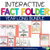 Interactive Fact Folder - Entire Year Bundle