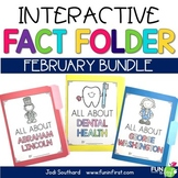 Interactive Fact Folder - February Bundle (Dental Health,