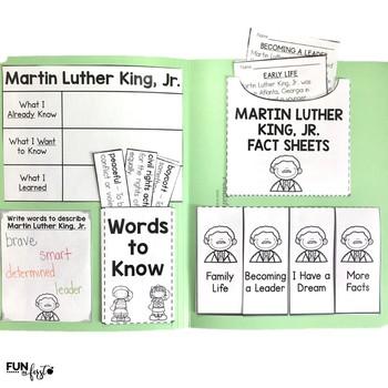 Interactive Fact Folder - Martin Luther King, Jr.