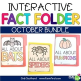 Interactive Fact Folder - October Bundle (Bats, Pumpkins,