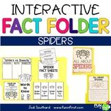 Interactive Fact Folder - Spiders