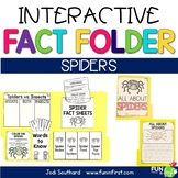 Interactive Fact Folder - Spiders