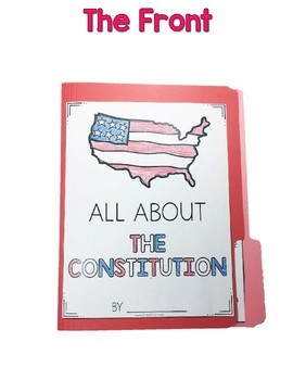 Interactive Fact Folder - The Constitution