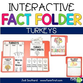 Interactive Fact Folder - Turkeys