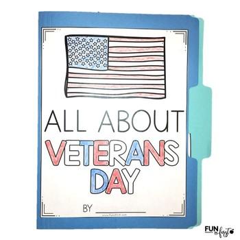 Interactive Fact Folder - Veterans Day