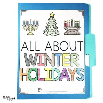 Interactive Fact Folder - Winter Holidays