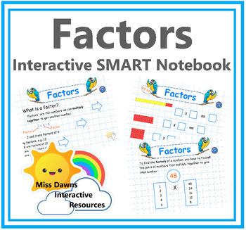 Interactive Factors Activity for IWB