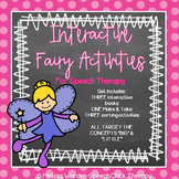 Interactive Fairy Activities for Speech Therapy