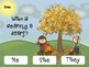 Interactive Fall Activity for Speech and Language