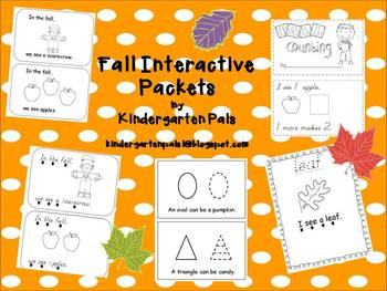 Interactive Fall Emergent Readers