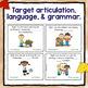 Fall Speech & Language bundle - Tablet Activities & Worksheets!