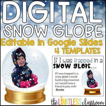Interactive Falling Snow Google Slides If I was trapped in a snow globe
